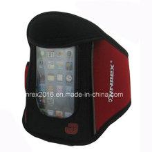 Sport-laufende Förderung Neopren-Arm banded Handy-Tasche-Jb13h024