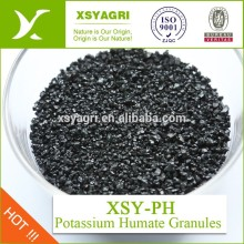 100% solubility Potassium Humate For Foliar Fertilizer