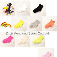 Calcetines de algodón de bebé de pun ¢ o rodado no apretado sienten calcetines de desgaste muy cómodo