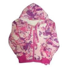 Primavera Kids Girl Coat na roupa das crianças (SGC001)