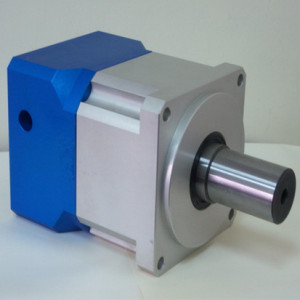 DC motor gearbox with aluminum housing