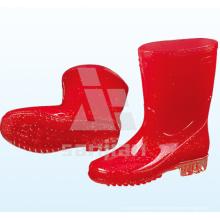Jy-6239 PVC Transparente Hombres Botas de lluvia