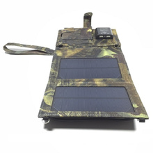 Hotsales Waterproof 6.8W Outdoor Portable Folding Solar Charger Bag