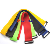 Wholesale Price for Hook And Loop Straps Custom Hook and Loop Strap with Buckle supply to Portugal Suppliers