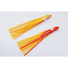 Free Shipping Artificial Soft Plastic Octopus Skirt Lure