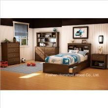 Kids Twin Mates Bed 3 Piece Bedroom Set (HF-HH30)