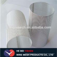 Alibaba China perfurou filtro de cilindro de aço inoxidável, filtro de disco, vasilhas de filtro