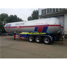 32Ton 62000L Propan Gas Tank Trailers