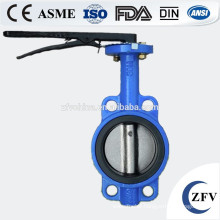 Factory Price DN40-1200 PN10/16 butterfly valve, Wafer Lug U and Flanged type Butterfly Valve