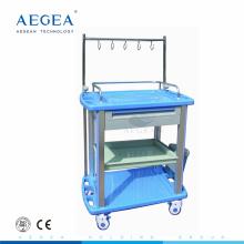 AG-IT003A3 Infusionsständer Behandlung ABS Material Krankenhaus Verbandwagen