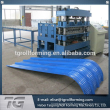 high graded superiority standing seam roof panel curving machine processed by CNC lathe mill