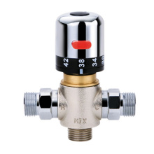 Brass Shower Faucet Thermostatic Mixing Valve