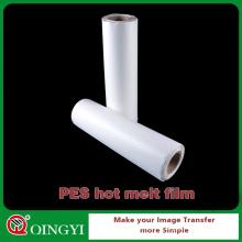 Película adhesiva del derretimiento caliente al por mayor de China usada para la ropa de la vinculación