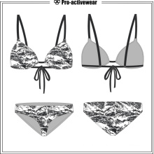 Fashion Design Stylish Ladies Custom Brazilian Beach Swimwear
