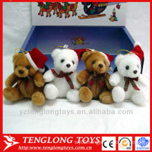 factory wholesale stuffed plush christmas toy polar bear