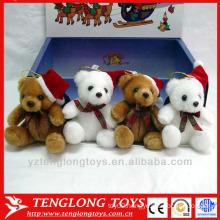 factory wholesale stuffed plush christmas toy polar bear