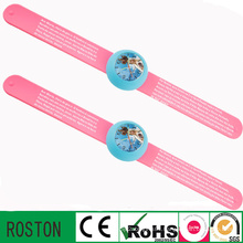 Japan Quartz Movement Silicon Slap Watch for Children