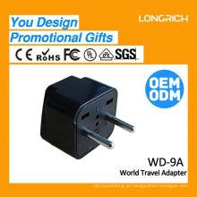 Multifuncional Mini Travel Plug Socket CE ROHS Aprovado