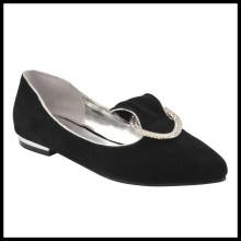 Zapatos planos nuevos de la llegada de la moda de las mujeres señaladas (HS13-166)