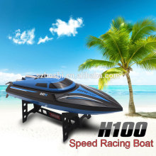 Latest kids toy gift Skytech H100 Waterproof RC Boat 2.4GHz 4 Channel 30km/H High Speed Racing 180 Degree Flip RC fishing boat