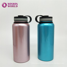 Promotion 600ml Proof Leak Wide Mouth Double-Walled Stainless Steel Water Bottle