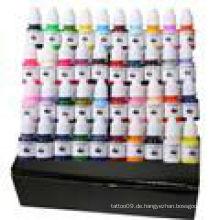 40 Arten Farben Tattoo Tinte gesetzt