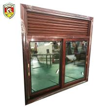 6mm single tempered glass aluminium window louver louver frame