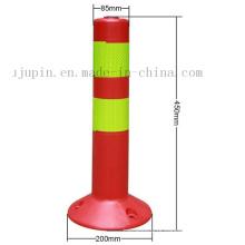 Borne de advertência reflexivo da estrada flexível feita sob encomenda do tráfego da segurança