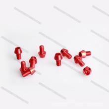 Hohe Qualität professionelle M2 / M3 / M4 Aluminium eloxiert Knopf Schrauben / Bolzen Socket / Cap für RC Drohne Herstellung Maschinen Preis