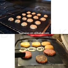 Exporter un tapis de barbecue supérieur en téflon ptfe barbecue
