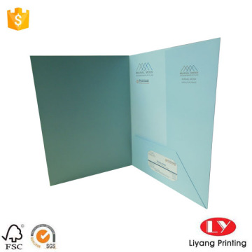 Full+color+paper+folder+with+one+pocket+design