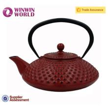 Enamel Wholesale Cast Iron Teapots With Metal Tea Infuser 0.8L