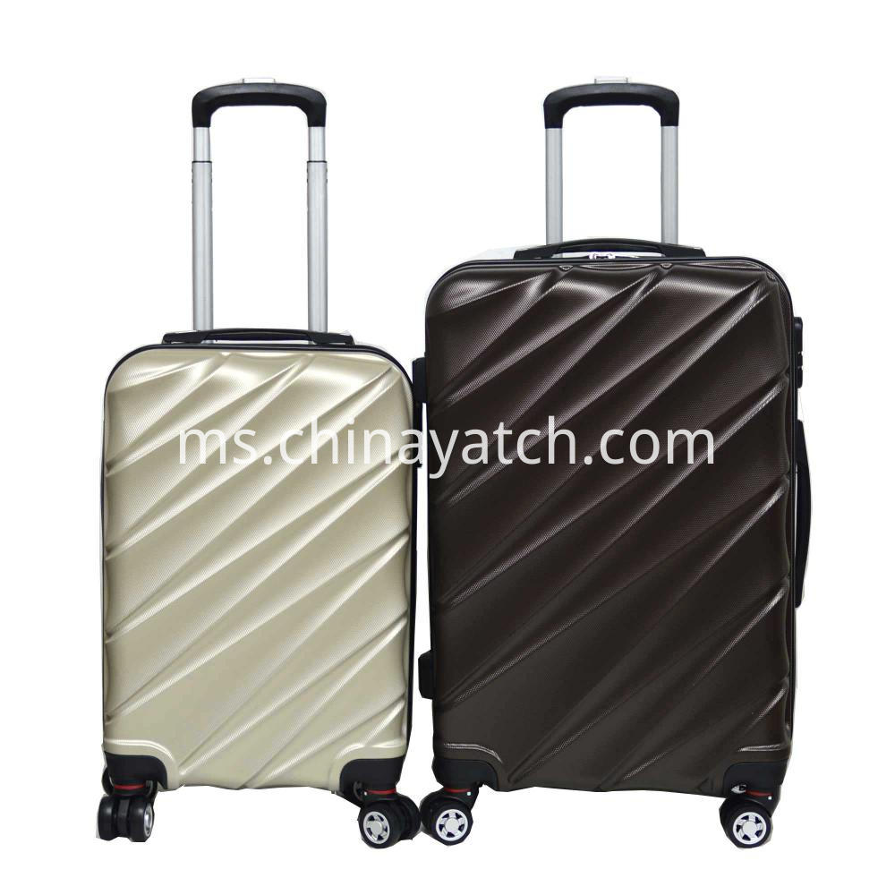 New color PET suitcase