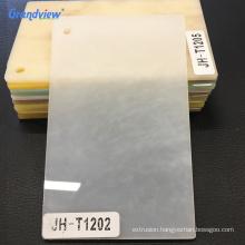 Wood grain flexible acrylic sheet