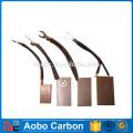 brosses en cuivre pour moteurs à courant continu