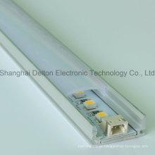 DC24V SMD3528 luz de tira rígida do diodo emissor de luz com perfil de alumínio