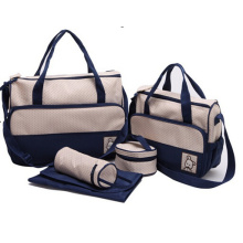 5PCs Baby Nappy Changing Bag Set
