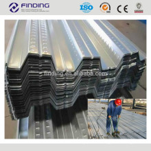 Hot rolled carbon steel materials cold rolled stainless steel plate corrugated galvanized metal plate decking steel sheets