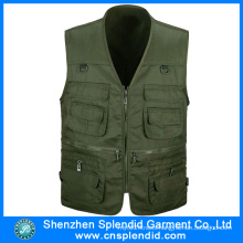 Cheap Offer Workwear Multi Pockets Men Outdoor Hunting Vest