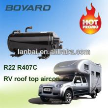 Telhado montado RV ar condicionado peças caravana ar condicionado acessórios Compressor para táxi do dorminhoco de caminhão de RV