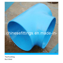 Butt Weld Seamless Alloy Steel Pipe Fitting Tee