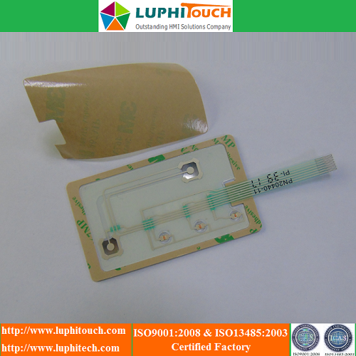 Chemical Dispensing Equipment Waterproof Membrane Keypad