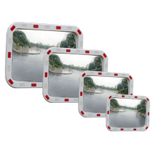 Hot Selling Traffic Safety Reflective Square Convex Mirror, High Quality PC Traffic Safety Square Convex Mirror/