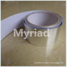 Hitze reflektierende Aluminiumfolie Klebeband, reflektierende und silberne Bedachungsmaterial Aluminiumfolie Faced Laminierung