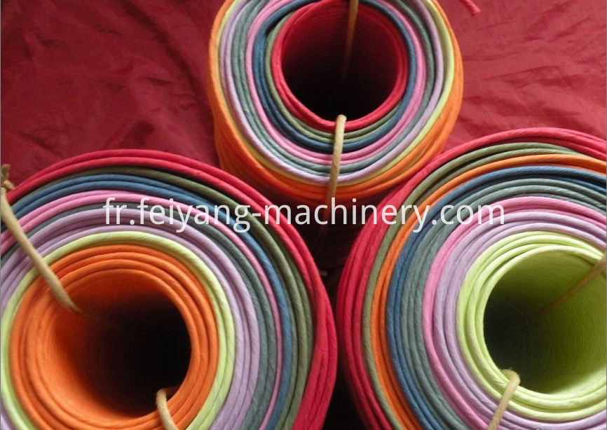 Paper Rope Rewinding Machine