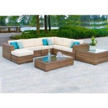 Combination Outdoor Rattan/Wicker Sofa Leisure Garden Furniture