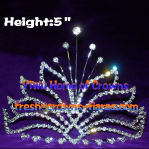Crystal Ghost Pageant Crowns