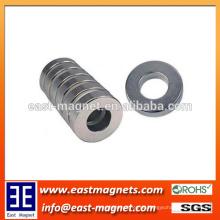 Seltener Erde Permanent N50 gesinterter NdFeB Ring Magnet / hochgradiger Magnet für Verkauf