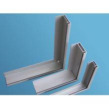 Perfil de alumínio com perfil de painel solar anodizado