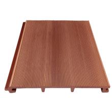 Painel de parede exterior plástico composto de madeira para a construção / painel de parede exterior / tapume do wpc